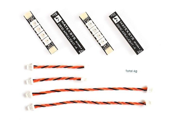 Matek Systems RGB W2812 4 LEDs 4 Stück