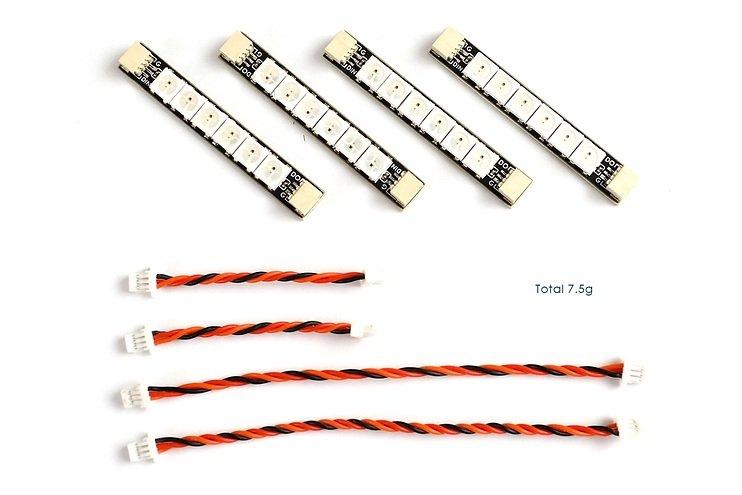 Matek Systems RGB W2812 6 LEDs 4 Stück
