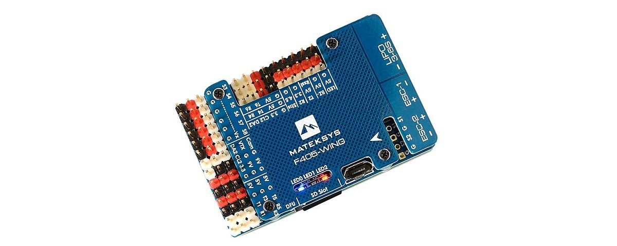 Matek Systems Flight Controller F405-Wing - Pic 1
