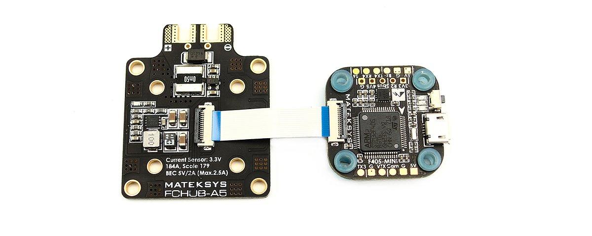 Matek FC HUB-A5 PDB mit Current Sensor 184A BEC 5V 2A - Pic 2