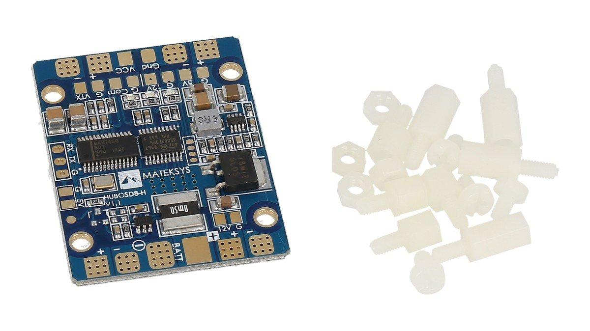 Matek PDB mit Dual BEC, Stromsensor und OSD (STOSD8) - Pic 2