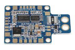 Matek PDB X-Type mit Dual BEC + XT60 + OSD (STOSD8)