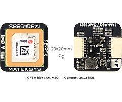 Matek Systems GPS & Kompass M8Q-5883