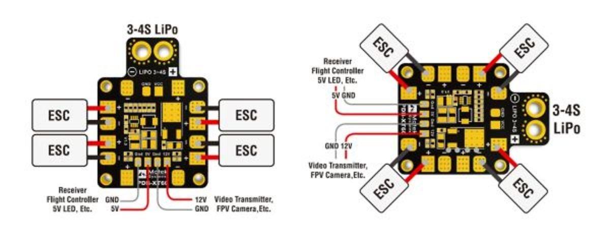 Matek PDB-XT60 mit BEC 5V & 12V - Pic 3