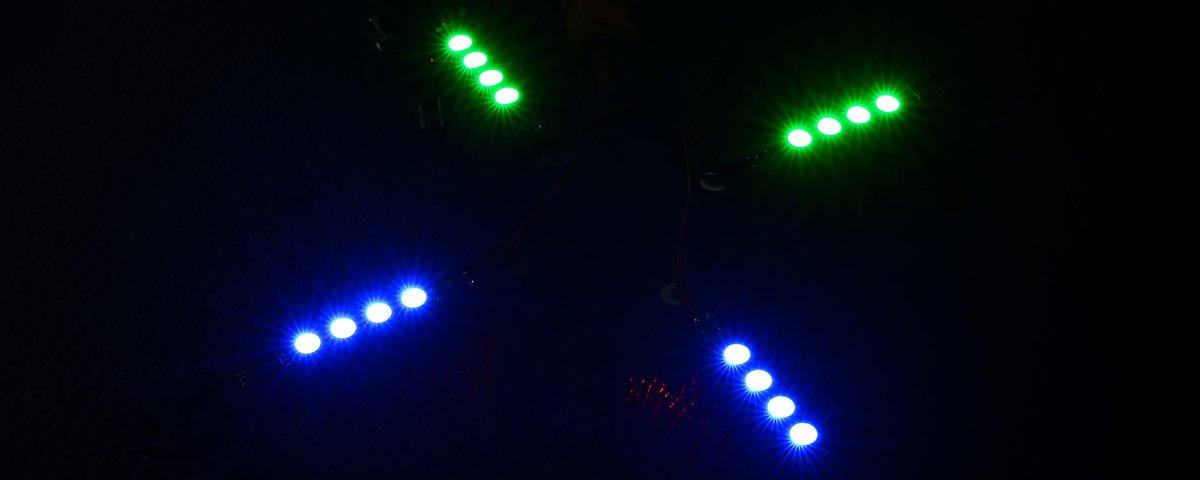 RGB ARM LIGHT 16V 2 Stück - Pic 3
