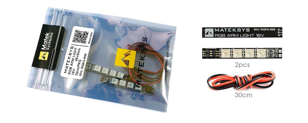 RGB ARM LIGHT 16V 2 Stück - Pic 6