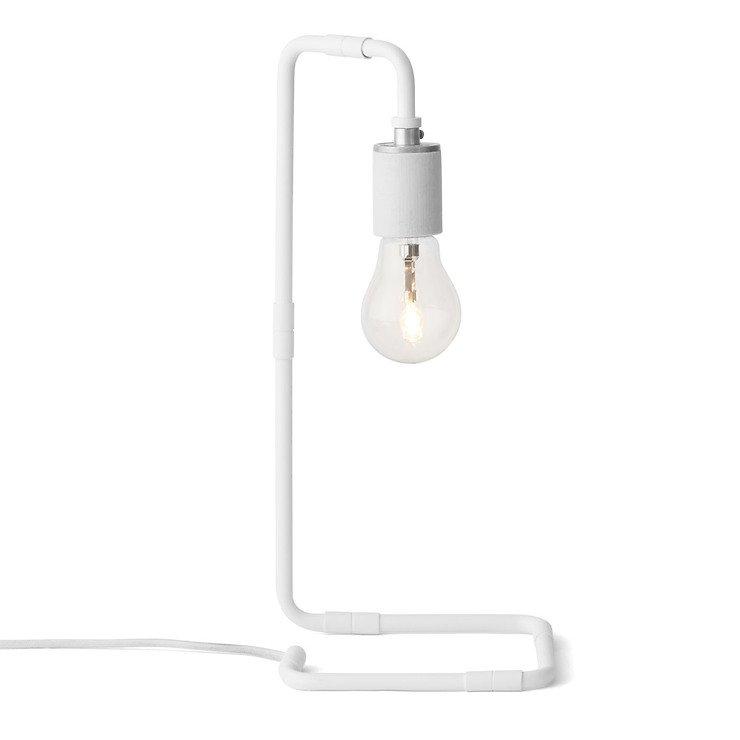 Menu Tischlampe Reade Table Lamp 15 x 34cm Stahl weiß - Pic 1