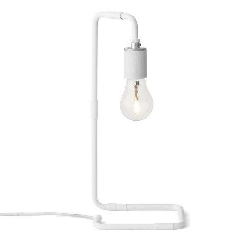 Menu Tischlampe Reade Table Lamp 15 x 34cm Stahl weiß
