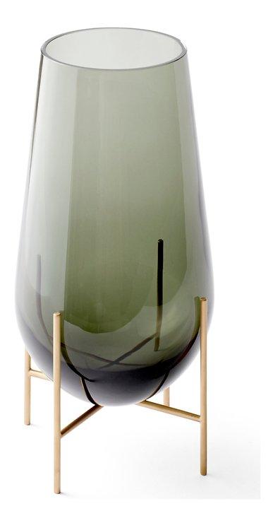 Menu Vase Echasse M Glas 45 cm rauchgrau - Pic 2