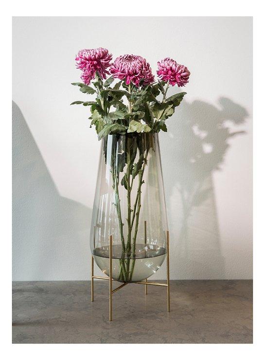 Menu Vase Echasse L Glas 60 cm rauchgrau - Pic 3