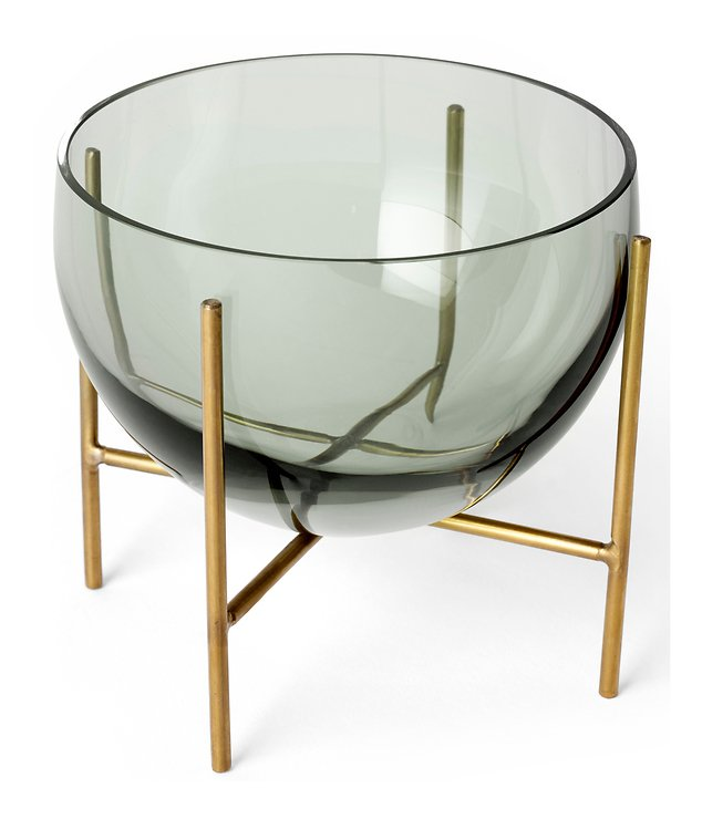 Menu Schale Echasse Glas 15 cm rauchgrau - Pic 2