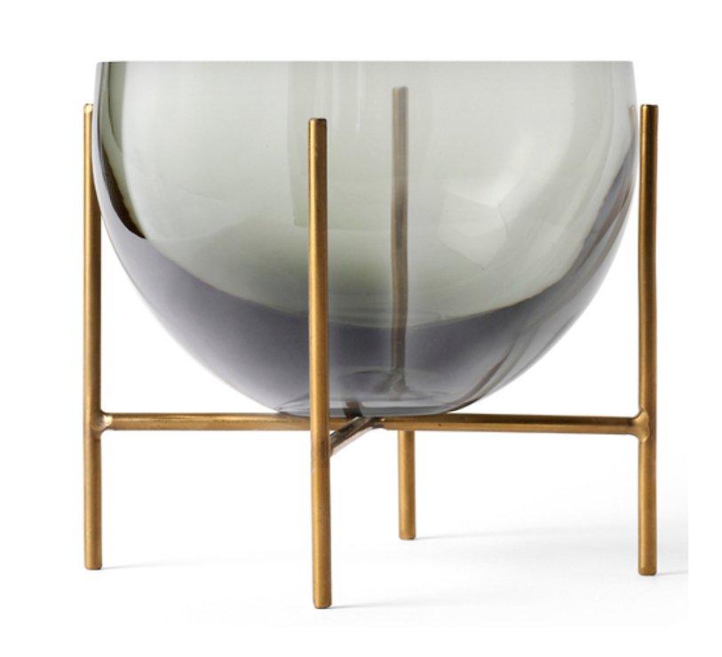 Menu Schale Echasse Glas 15 cm rauchgrau - Pic 1