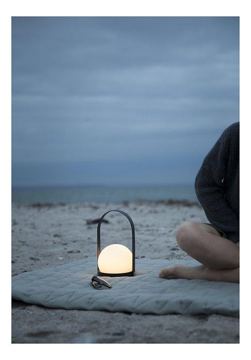 Menu LED Lampe Carrie 13,5 x 24,5cm Stahl schwarz - Pic 2