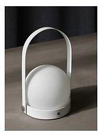 Menu LED Lampe Carrie 13,5 x 24,5 cm Stahl weiß
