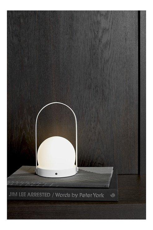Menu LED Lampe Carrie 13,5 x 24,5 cm Stahl weiß - Pic 3