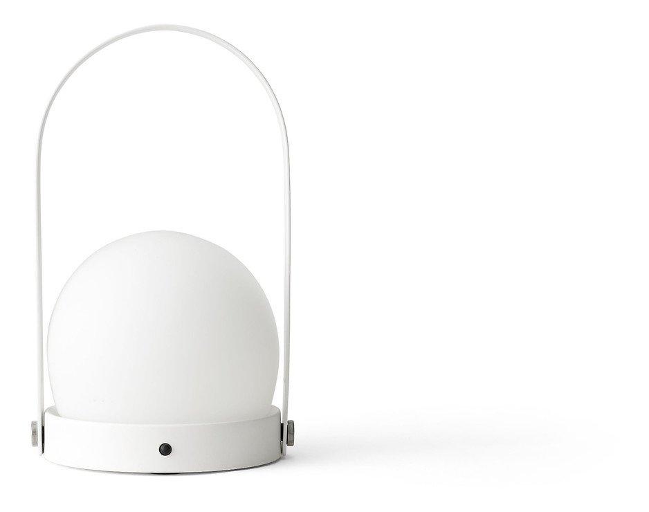 Menu LED Lampe Carrie 13,5 x 24,5 cm Stahl weiß - Pic 2