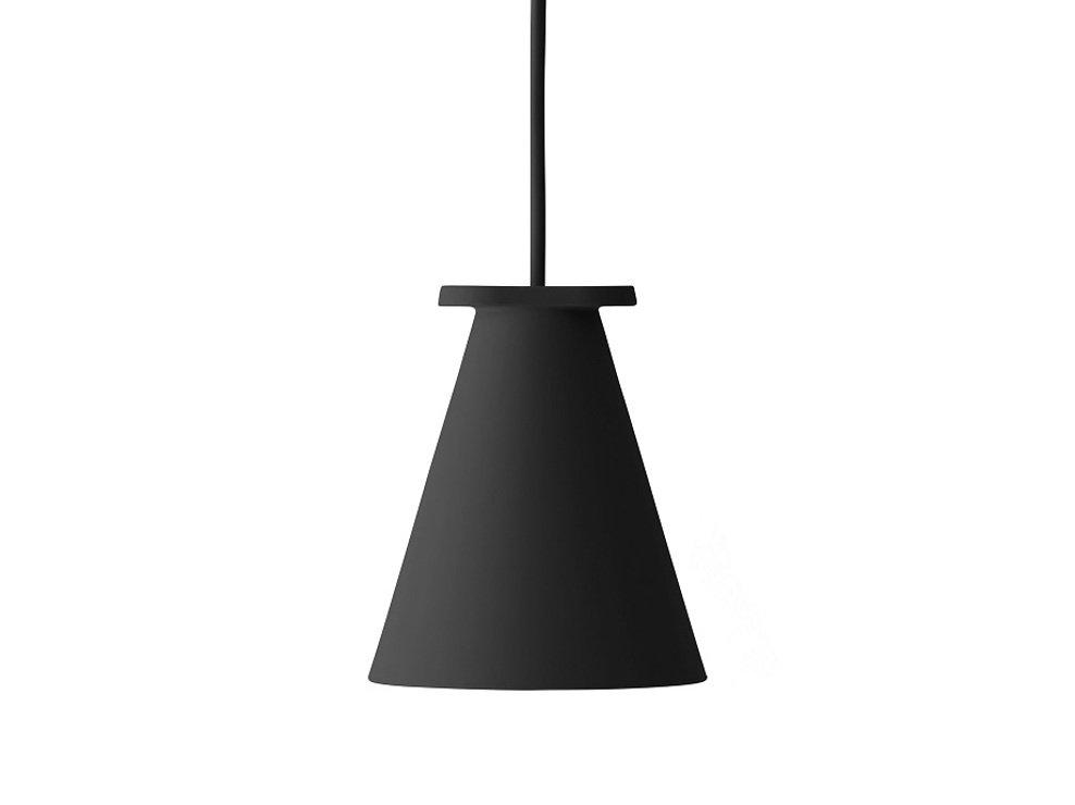 Menu Lampe Bollard 11 x 13 cm Silikon schwarz - Pic 2