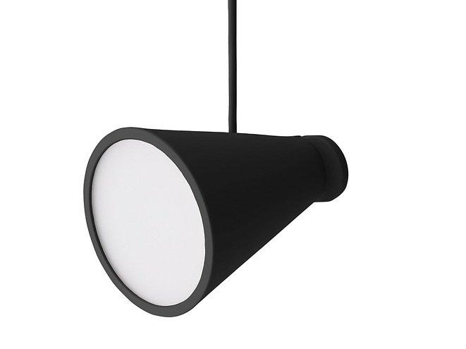 Menu Lampe Bollard 11 x 13 cm Silikon schwarz