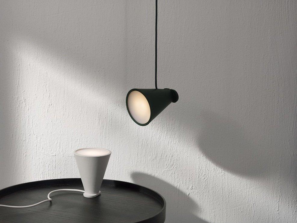 Menu Lampe Bollard 11 x 13 cm Silikon schwarz - Pic 4
