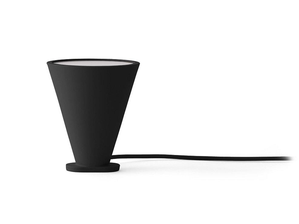 Menu Lampe Bollard 11 x 13 cm Silikon schwarz - Pic 3
