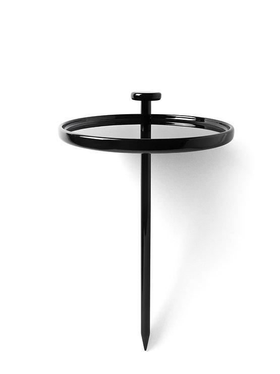 Menu Beistelltisch Pin Table 40cm Holz schwarz - Pic 4