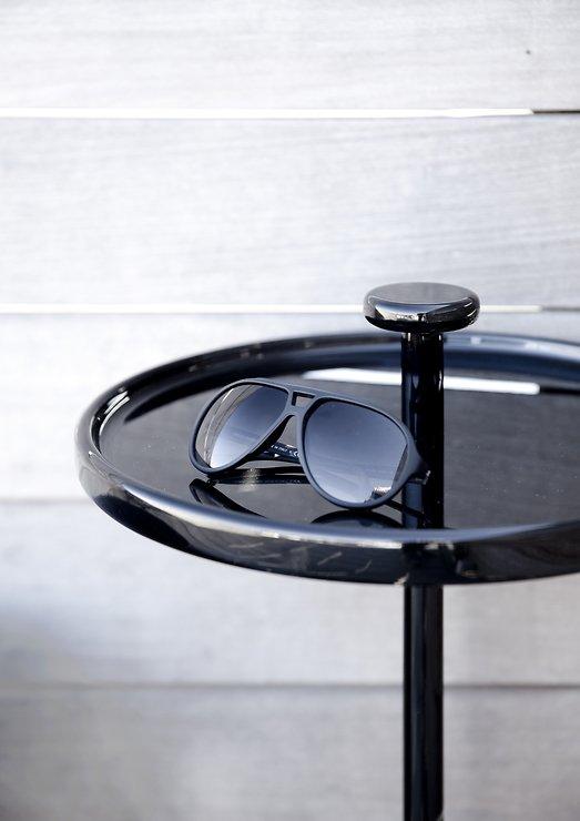 Menu Beistelltisch Pin Table 40cm Holz schwarz - Pic 2
