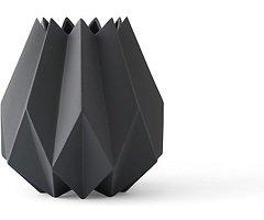 Menu Vase Folded 13 x 23cm Keramik carbon