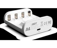 iSDT Ladegerät A4 für AA AAA smart charger Multifunktion