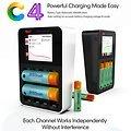 MTTEC iSDT Smart Ladegerät C4 - 25W 3A - Thumbnail 1