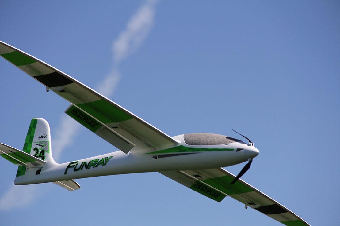 Multiplex RR FUNRAY SPW 2000mm Elektrosegelflugmodell - Pic 5