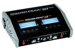 Multiplex POWER PEAK D7 EQ-BID 12V 230V Duo Ladegerät