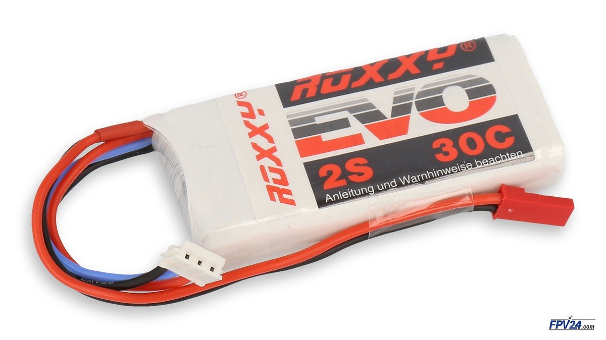 ROXXY LiPo Akku Evo 2S 850mAh  30C - Pic 1