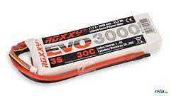 ROXXY Batterie LiPo Akku Evo 3S 3000mAh 30C