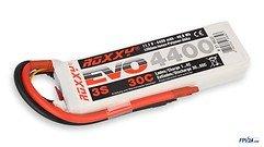 ROXXY Batterie LiPo Akku Evo 3S 4400mAh 30C