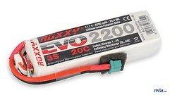 ROXXY Batterie LiPo Akku Evo 3S 2200mAh 20C mit BID-Chip