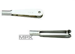 Metall Gabelkopf M2 10 Stück