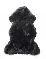 Natures Collection Neuseeland Schaffell 100 x 60 cm schwarz