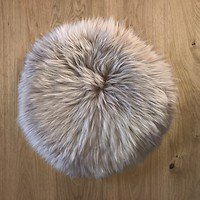 Natures Collection Sitzauflage Neuseeland Schaffell 38cm warm sand