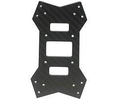 Noblish TPF 210 Ersatzplatte Bodenplatte Carbon