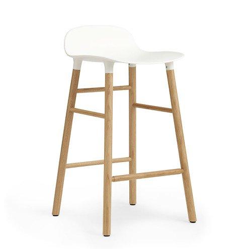 normann copenhagen barhocker form 65 cm eiche wei kaufen. Black Bedroom Furniture Sets. Home Design Ideas