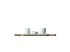 LSA Dipset Paddle Porzellan/Esche 49cm