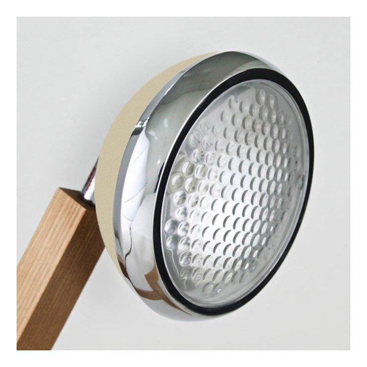 Mr. Wattson LED Tischlampe Holz Metall grün - Pic 5