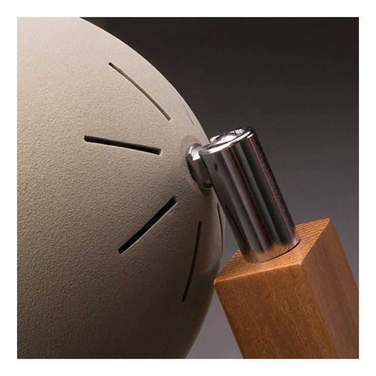 Mr. Wattson LED Tischlampe Holz Metall grün - Pic 4