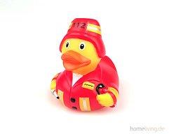 Plopp Zahnbürstenbecher Feuerwehr Ente