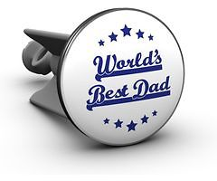Plopp Waschbeckenstöpsel Worlds Best Dad