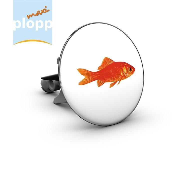 Plopp Waschbeckenstöpsel Maxi Goldfisch - Pic 1