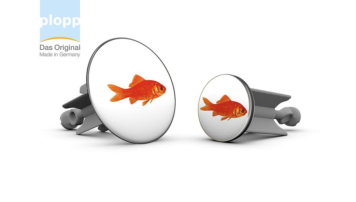 Plopp Waschbeckenstöpsel Maxi Goldfisch - Pic 2