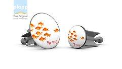 Plopp Waschbeckenstöpsel Maxi Goldfisch