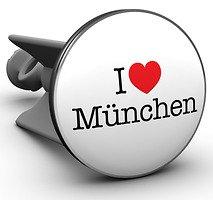Plopp Waschbeckenstöpsel I love München