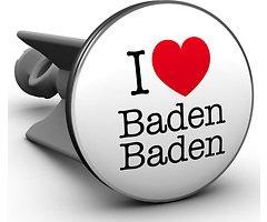 Plopp Waschbeckenstöpsel I love Baden Baden